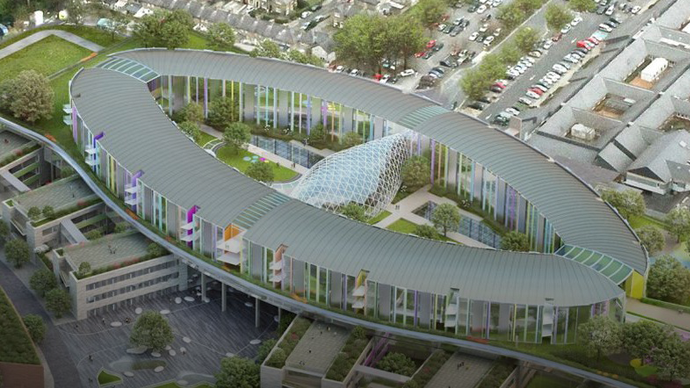 Government approves Phase B construction investment decision for new children's hospital project
