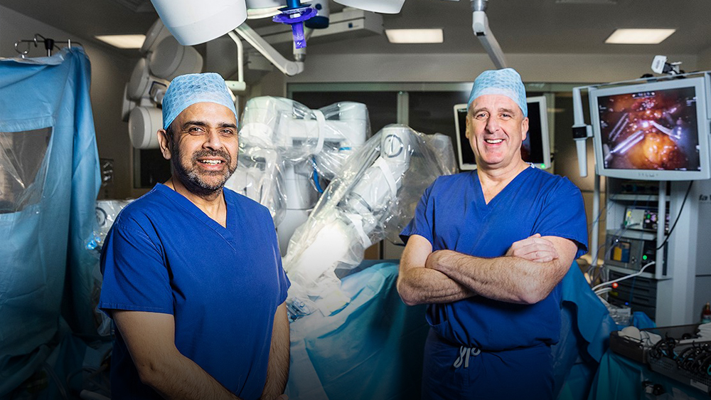 Over 100 Da Vinci Robotic Colorectal Cancer Operations have now been carried out at Beacon Hospital