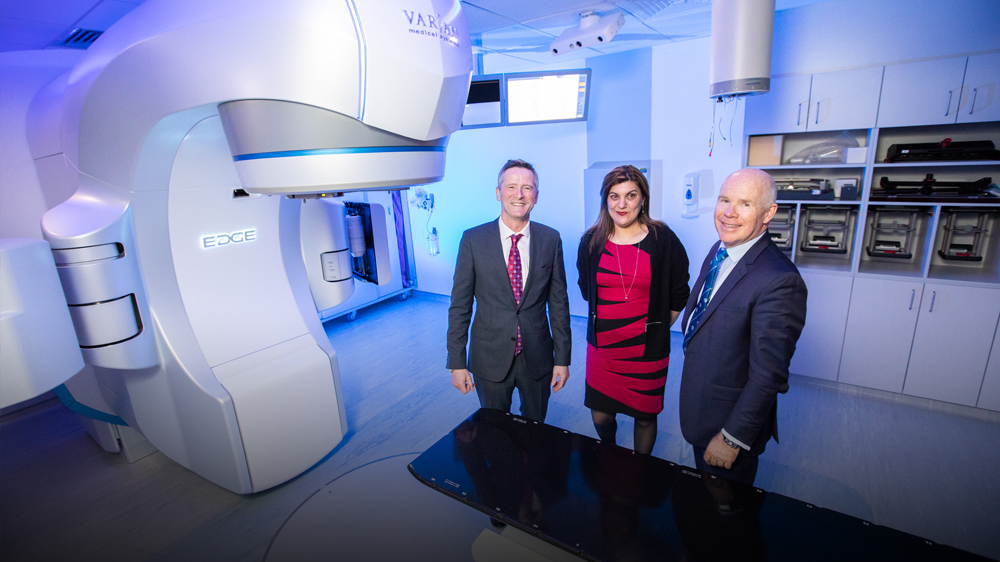 Beacon Hospital now has Ireland's most advanced  Radiotherapy machine, The Varian Edge