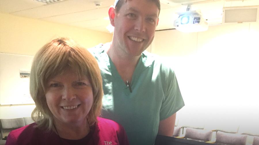 Innovative tele-consultations have commenced at Sligo University Hospital Pain Clinic