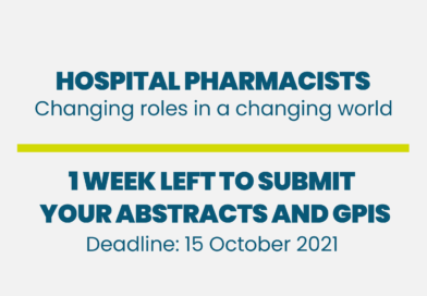 Hospital Pharmacists – 1 Week Left to Submit